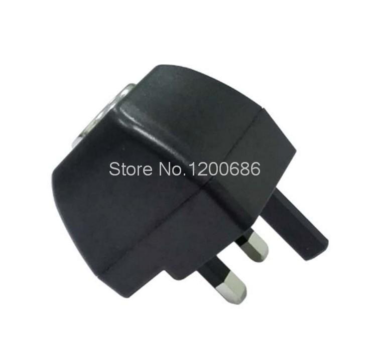 UK 3-Prong Travel Outlet Plug Adapter Converter 220V Wall Power to 12V DC  Adapter Converter