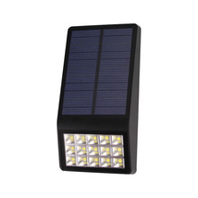 TAMPROAD Best Selling Solar Wall Light 15LED Porch Garden Lamp Polysilicon 5.5V 1W Solar-panel Lights Outdoor Courtyard Lighting(China)
