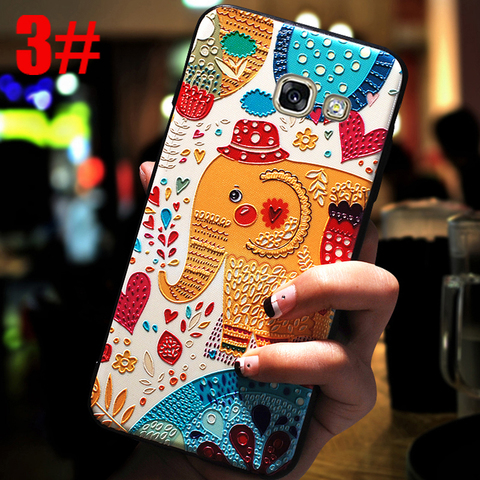 YonLinTan luxury coque,cover,case For Samsung Galaxy a5 2016 a510 Back etui 3D cute mobile phone 360 Original cases accessories Islamabad