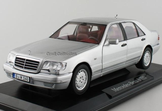*Silver 1:18 Classical Car Model Benz S320 W140 Sedan Diecast Model Car Luxury Gifts Rare Miniature