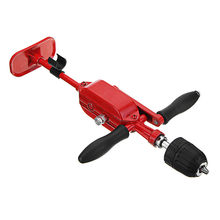 Brand New 0.8-10mm Two Gear Hand Drill Stainless Steel Automatic Miniature Hand Crank Tapping Machine(China)
