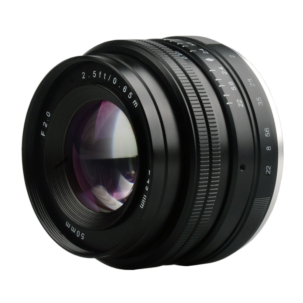 50mm f2.0 Large Aperture Manual Focus lens APS-C Lenses For Sony E Mount a6300 a6000 a6500 NEX7 Mirrorless Cameras50mm f2.0 Large Aperture Manual Focus lens APS-C Lenses For Sony E Mount a6300 a6000 a6500 NEX7 Mirrorless Cameras