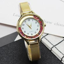 woman watch 2019 Luxury Gold Stainless Steel Jewelry Bracelet Wrist Watches For Women Crystal Quartz Watch Ladies Clock Gifts цена