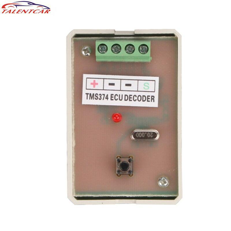TMS374 ECU Decoder MCU Version Auto ECU Programmer TMS 374 ECU TMS-374 Immo Disable Tool 3502075 ecu decoder for renault silver