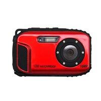 Top Deals 16 0MP Waterproof Digital Video Camera Sport Underwater Camcorder DV 2 7 LCD Red