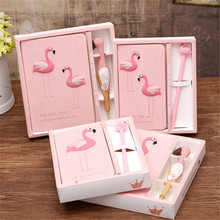 WSOMIGO Unicorn Notebook Flamingo Gift Box Unicorn Party Birthday Party Decorations Kids Wedding Gifts for Guests Party SuppiesS