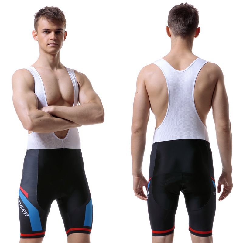 X-TIGER 8 Colors Cycling Bib Shorts Summer Coolmax 5D Gel Pad Bike Tights MTB Ropa Ciclismo Moisture Wicking Bicycle Pants