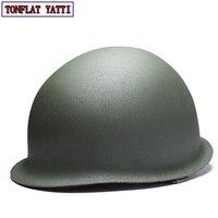 2019 Nieuwe Mooie Dubbele laag staal Amerikaanse helm Militaire Tactische Airsoft Paintball SWAT Beschermende Fast Helm|helmet protection|helmet militaryhelmet military tactical -