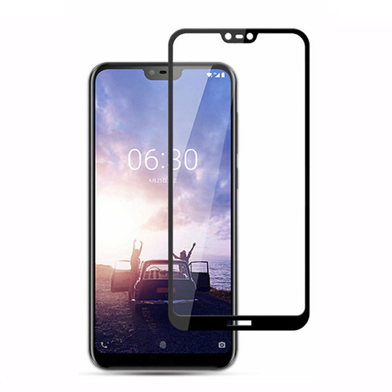 9D-Tempered-Glass-For-Nokia-X7-7-1-Plus-Glass-on-For-Nokia-2-3-5