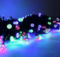 ต้นคริสต์มาสแสงสวนพลังงานแสงอาทิตย์แสงกระพริบตา50 ledsกันฝนวันหยุด/พรรคตกแต่งretailsale freeshipping