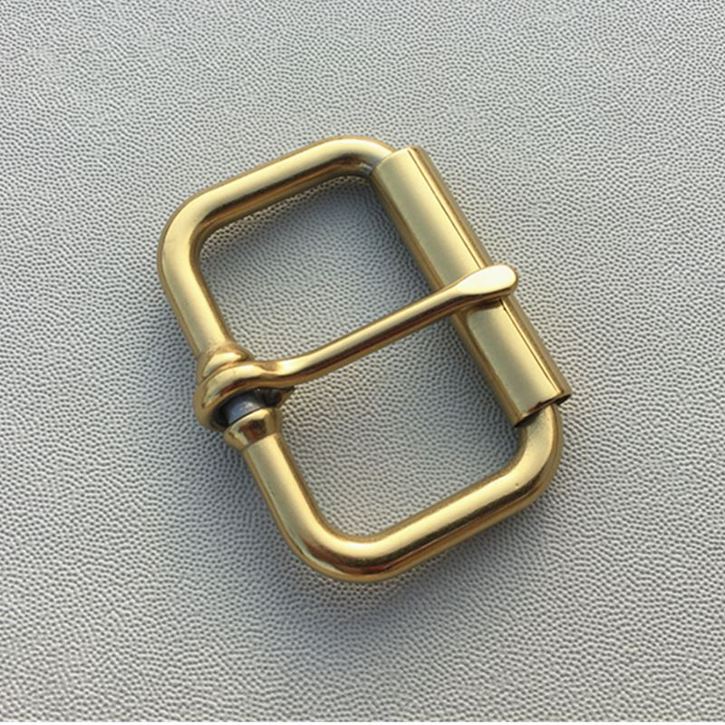 Stainless Steel Pin Buckle Belt Buckle With Roller Leather Buckle Metal Cowboy Belt Accessories Fitting Inner Width 50mm