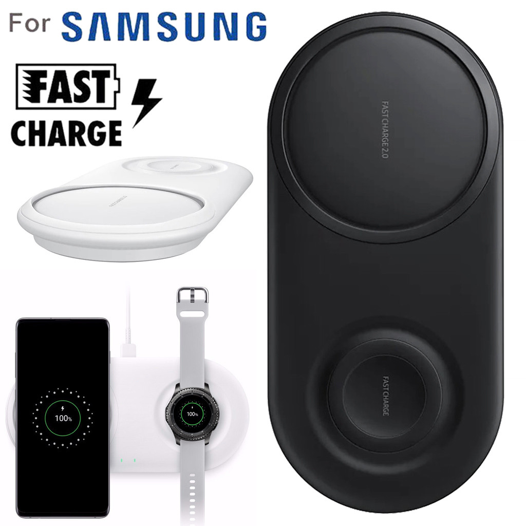 Wearable-Devices Wireless-Charger-Pad Fast-Charging Galaxy Samsung /watch 2-In-1