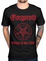 OKOUFEN Gorgoroth Twilight Of The Idols T Shirt Men Gift Casual Gift Tee USA Ize S