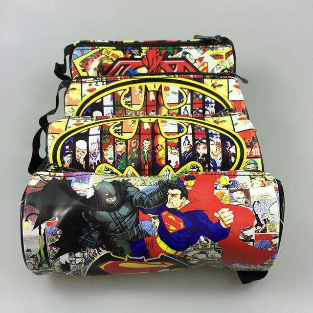 Пенал овальной формы с героями Марвел и DS Comics вариант 3 1