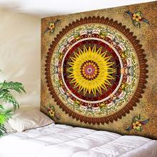 Vintage Floral Bohemian Mandala Tapestry Wall Hanging Indian Boho Art Fabric Cloth Tapestries 130cmx150cm 150cmx200cm