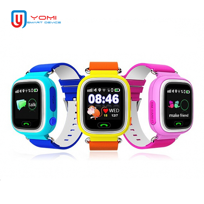 Kids Smart Watch <font><b>Q90</b></font> Touch Screen <font><b>GPS</b></font> Location SOS Call Remote Monitor Camera Wristwatch Tracker Kids Child Students for Android image