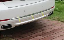 2011-2015 для BMW 7 серии F01 заднего бампера протектор в полоску гвардии 1 шт. Сталь