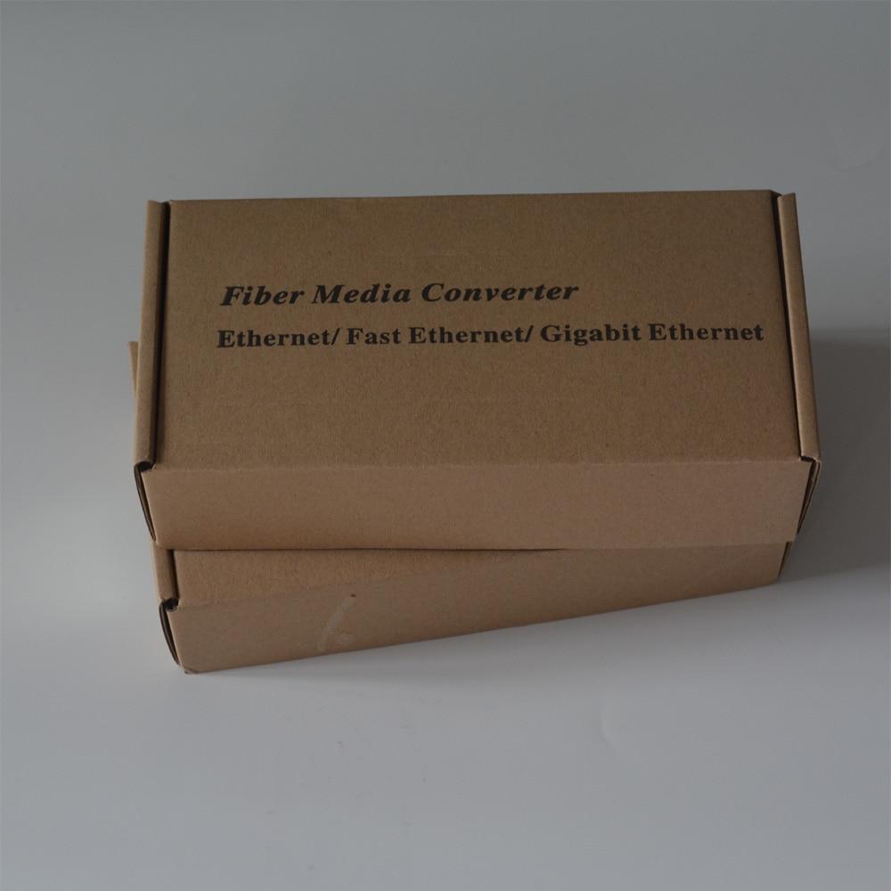 Hög kvalitet 10/100/1000 Mbps Gigabit Ethernet till Fiber Media - Kommunikationsutrustning - Foto 6