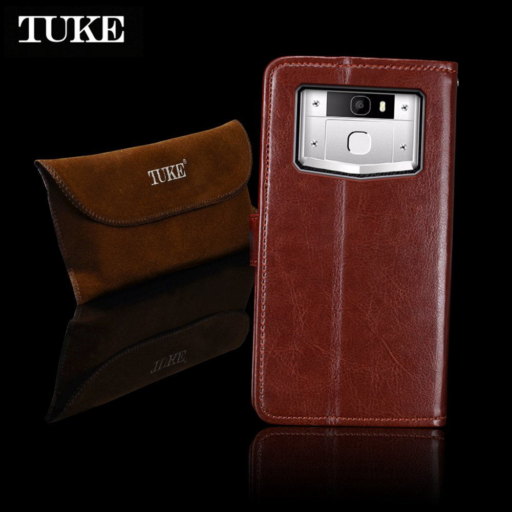TUKE Cas pour Oukitel K10000 Pro Flip En Cuir Couverture pour Oukitel K5000 C8 K6000 Pro U20 Plus C3 C4 U22 K3 U16 Max K10 U18 K8000