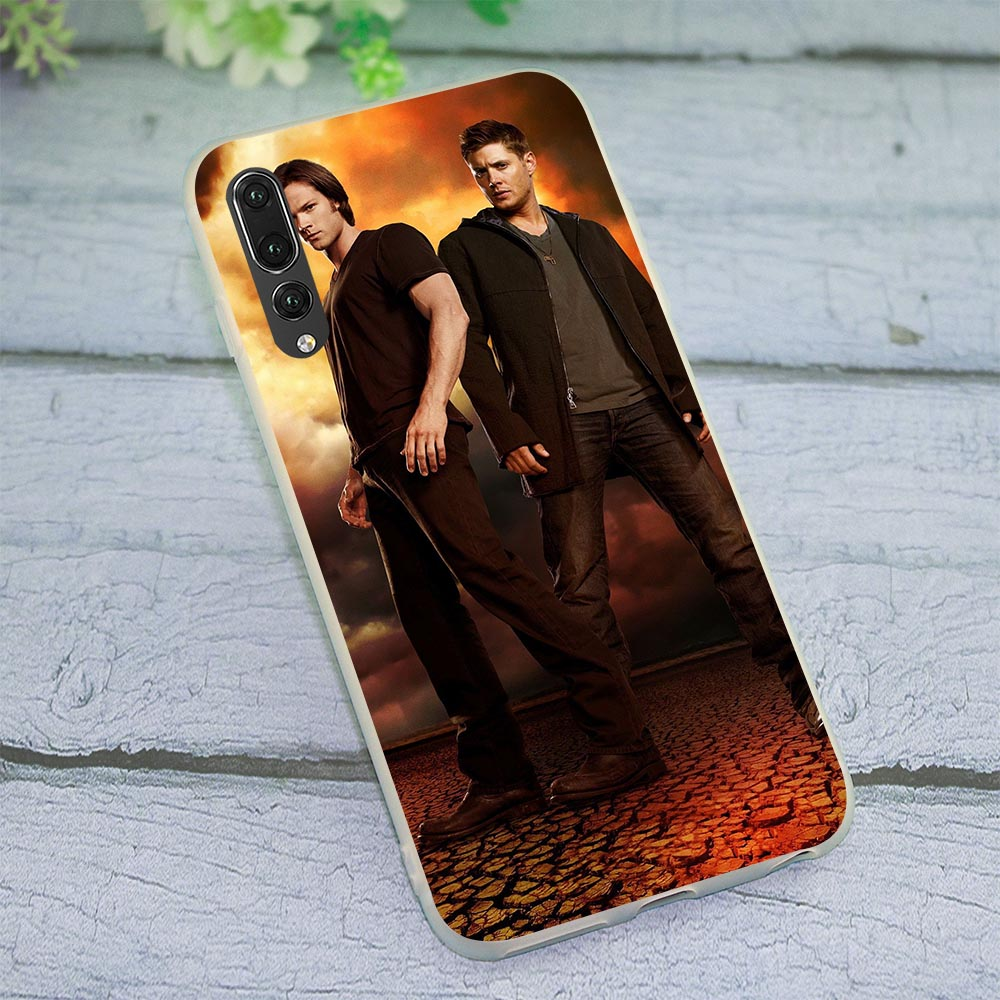 Soft TPU Supernatural TV Case for P8 Lite 2015 Cover for Huawei P Smart Mate 10 20 P9 Lite Covers P9 P10 P20 Pro P30 Pro Lite image
