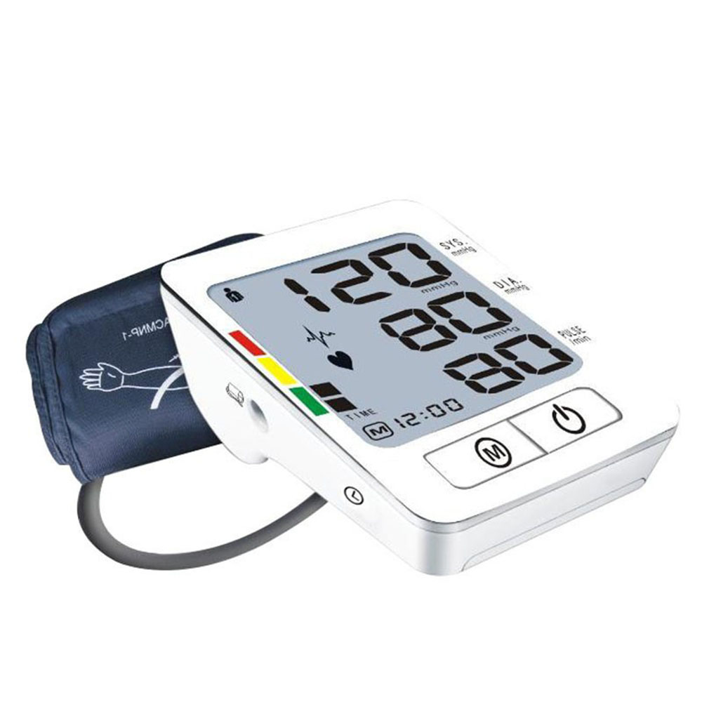 New Arrival Digital Arm Blood Pressure Meter Automatic Pulse Monitor Sphygmomanometer Health Care Upper Tonometer BP-380A chic tassels bead knotted bohemian slender waist rope for women