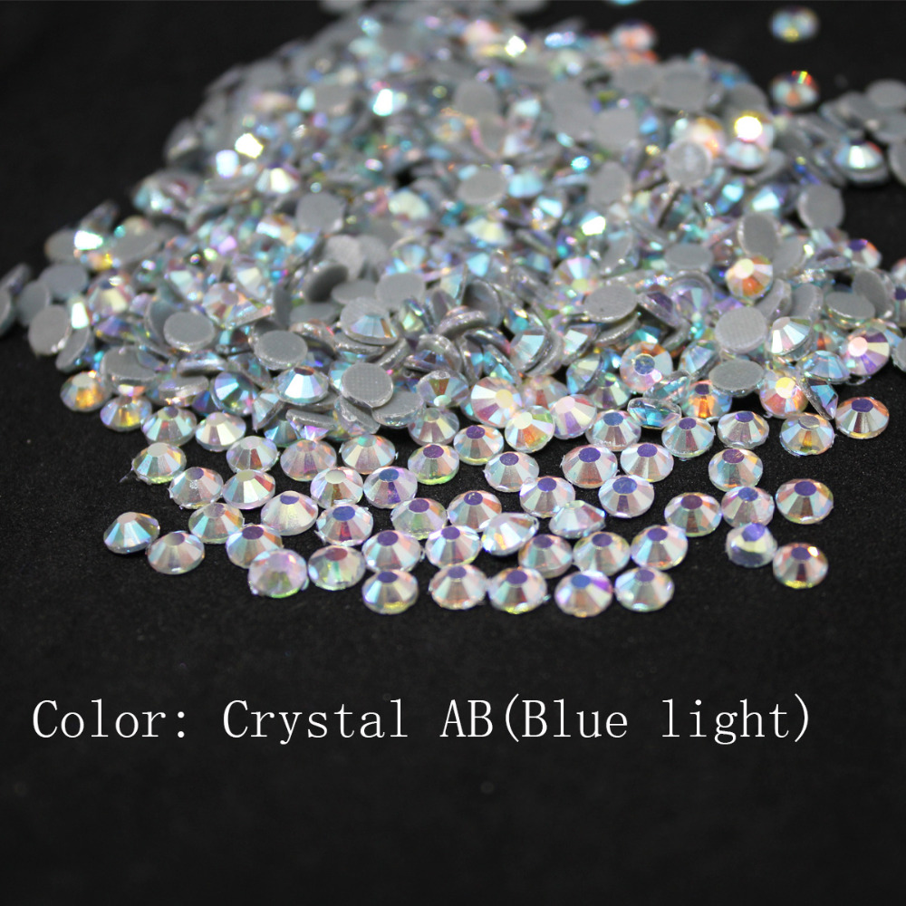 Crystal AB(blue) Large Package Crystal Glass DMC Machine Cut Hotfix Rhinestone Hot Fix Iron On Rhinestone Garment Sewing Stone hotfix rhinestones smoked topaz ab flatback round glass iron on strass for garment hotfix rhinestones with glue backing