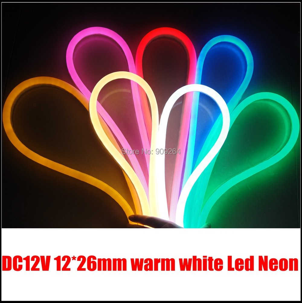 Us 209 76 8 Off Warm White Led Neon Flex Lights Strip Rope For Professional Lighting Solution Por To Usa Germany Australia In