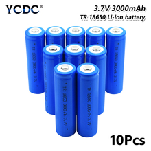 18650 Battery 3000mAh 3.7V Rechargeable Cell For Power Rechargeable batteries discharge For E-cigarette3.7V 3000mAh Li-ion все цены