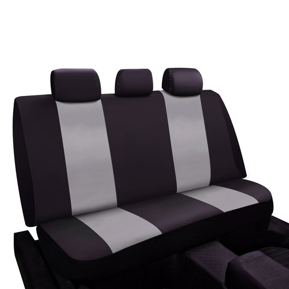 Charcoal Car Seat Covers Set Universal Fit For Sedan SUV Truck Split Bench Seat Cover Accessories Car Seat Protectors