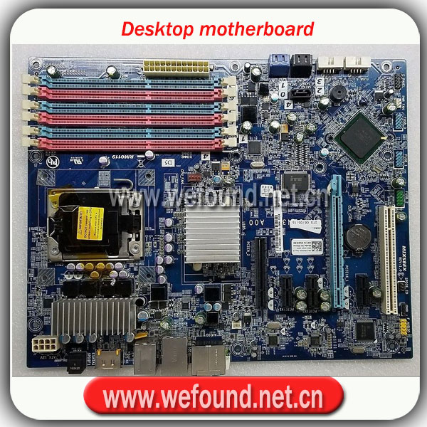 100 Working Desktop Motherboard For XPS9100 5DN3X X58 X5650 W3670 System Board Fully Tested