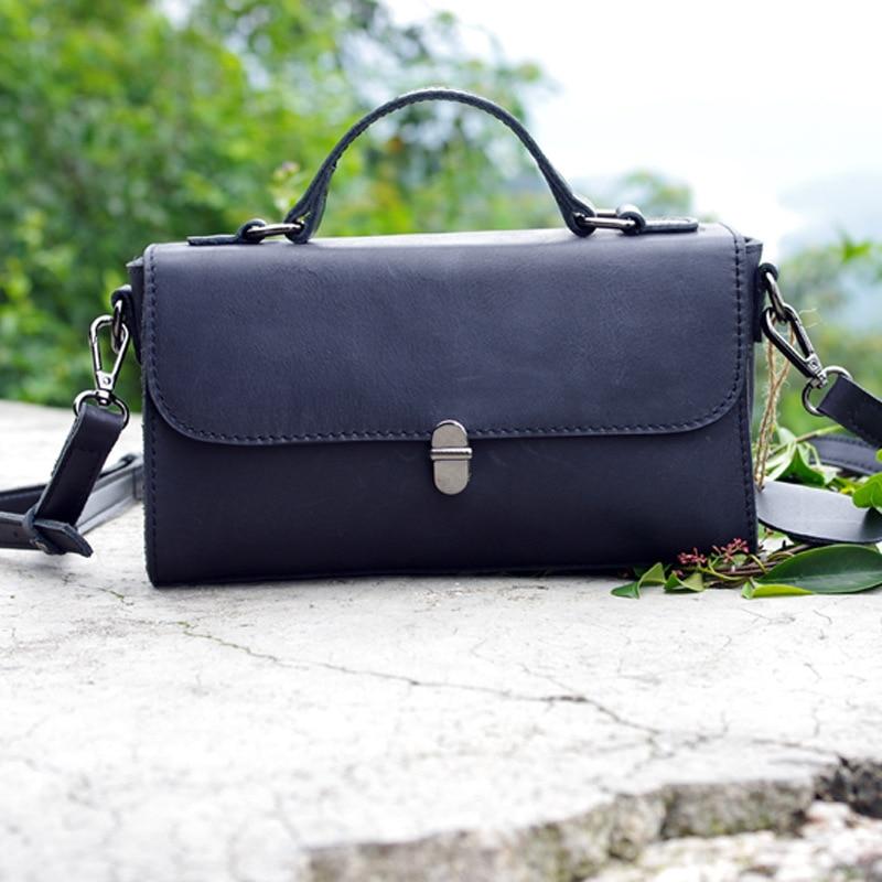 Europen and American Style Genuine Leather Women Shoulder Bag Fashion Design Crossbody Bag Real Leather Lock Messenger Bag Bolsa цена