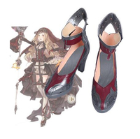 Game SINoALICE Red Riding Hood Cosplay Boots Shoes Halloween Carnival Cosplay Costume Accessories For Women Custom