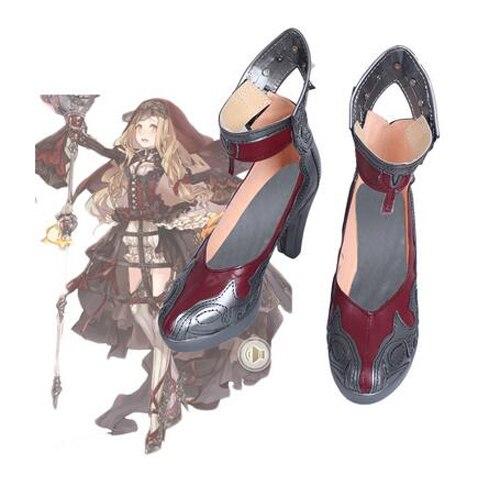 Jeu SINoALICE Rouge Chaperon Cosplay Bottes Chaussures Halloween Carnaval  Cosplay Costume Accessoires Pour Femmes Chaussures Faites Sur Mesure dans  ... 624eb172840