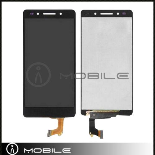 imágenes para Negro/Blanco/de Oro Para Huawei tiro x honor 7i Pantalla LCD Táctil Digitalizador Asamblea Envío Gratis