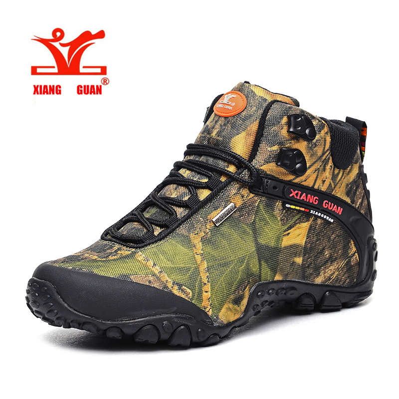 Unisex men Hiking shoes Outdoor male sneakers high canvas ...