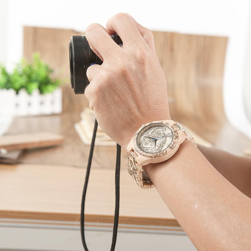 wooden watches bobo bird brand watch men new (34)