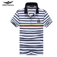 AFS JEEP Men S Summer Short Sleeve T Shirt Men Striped Turn Down Collar Tee Shirt