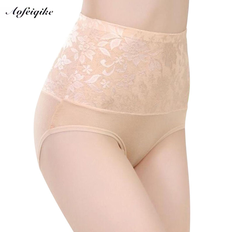 6f9a34ecb5e ZW90 Women Modal Panty High Waist Breathable Trigonometric Panties Plus  Size Female Underwear Body Shaping Briefs M-XXXL