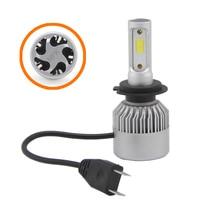 bulb 12v SHUOKE 2 PCS S2 Car Super LED Headlight COB Chip 12V 30W 45W 2.8A 3800LM 6000K HB3 9005 HB4 9006 H1 H4 H7 H11 LED Car Light Bulb (2)