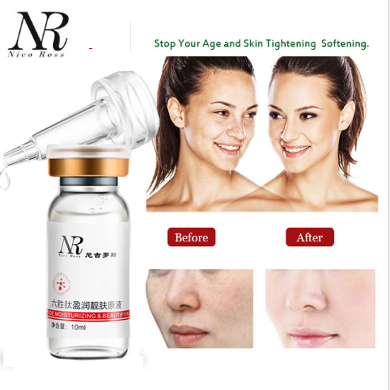 NR Six Peptides Serum Anti-Aging And Anti-Wrinkles Make Skin Smoothing And Moisture Restioring Skin Care Products