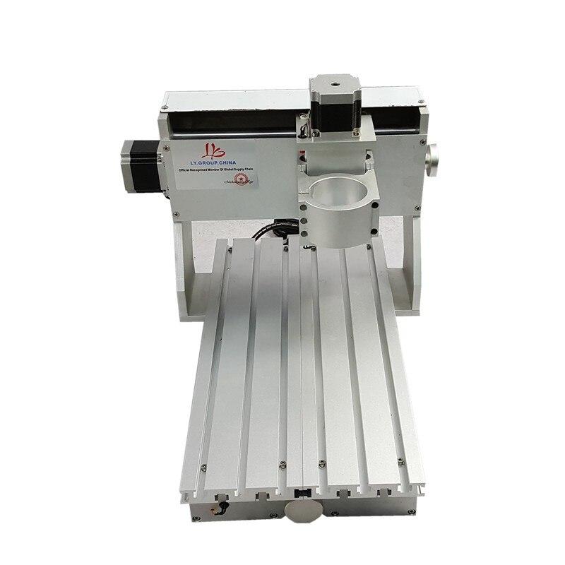 Diy mini roteador cnc 3020 quadro da máquina de gravura com interruptor limite para escultura em madeira pcb gravar cortador vidro