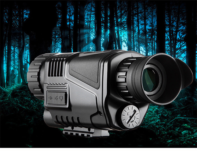 Hunting Night Vision Monocular 5X40 HD Adjustable Focus with 200M Infrared Camera Function For Tactical Optics Monocular DeviceHunting Night Vision Monocular 5X40 HD Adjustable Focus with 200M Infrared Camera Function For Tactical Optics Monocular Device