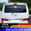 Для 2010 до 2015 Nissan NV200 большой спойлер на крыше Высокое качество ABS спойлер праймер или любой цвет задний спойлер для Nissan NV200