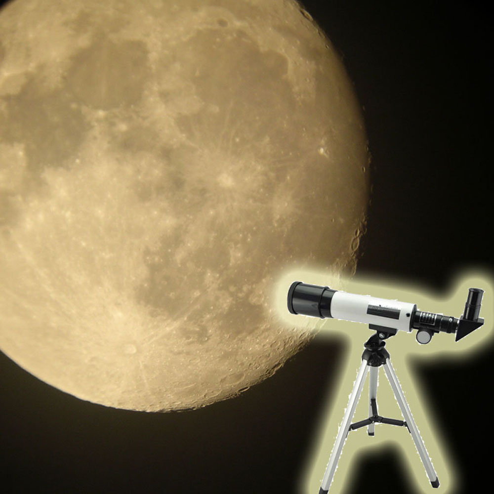 Image 4 - Visionking Refraction 360X50 Astronomical Telescope With Portable Tripod Sky Monocular Telescopio Space Observation Scope Gift-in Monocular/Binoculars from Sports & Entertainment