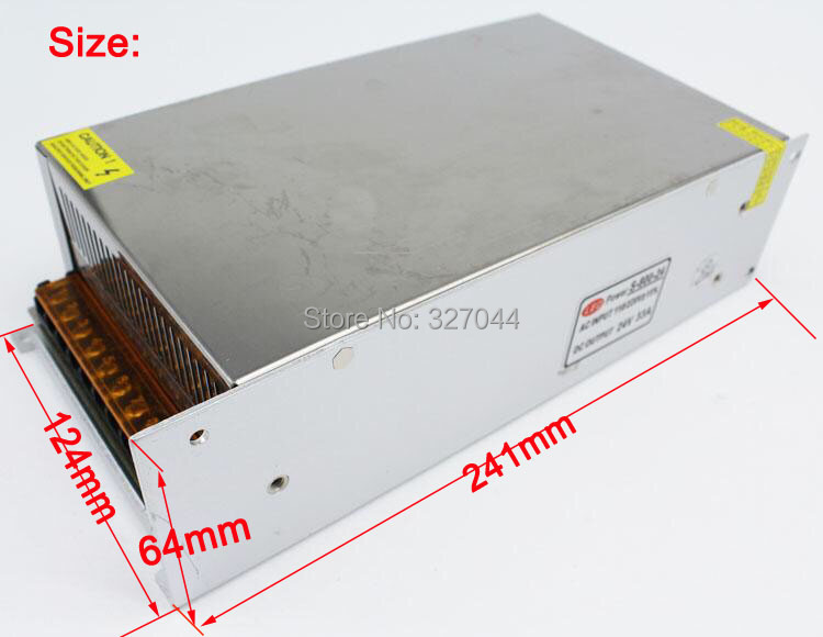 2pcs 110v 220v 24V 33A 800W led Switching Switch Power Supply adapter for AC LED Strip Light rigid bar modules