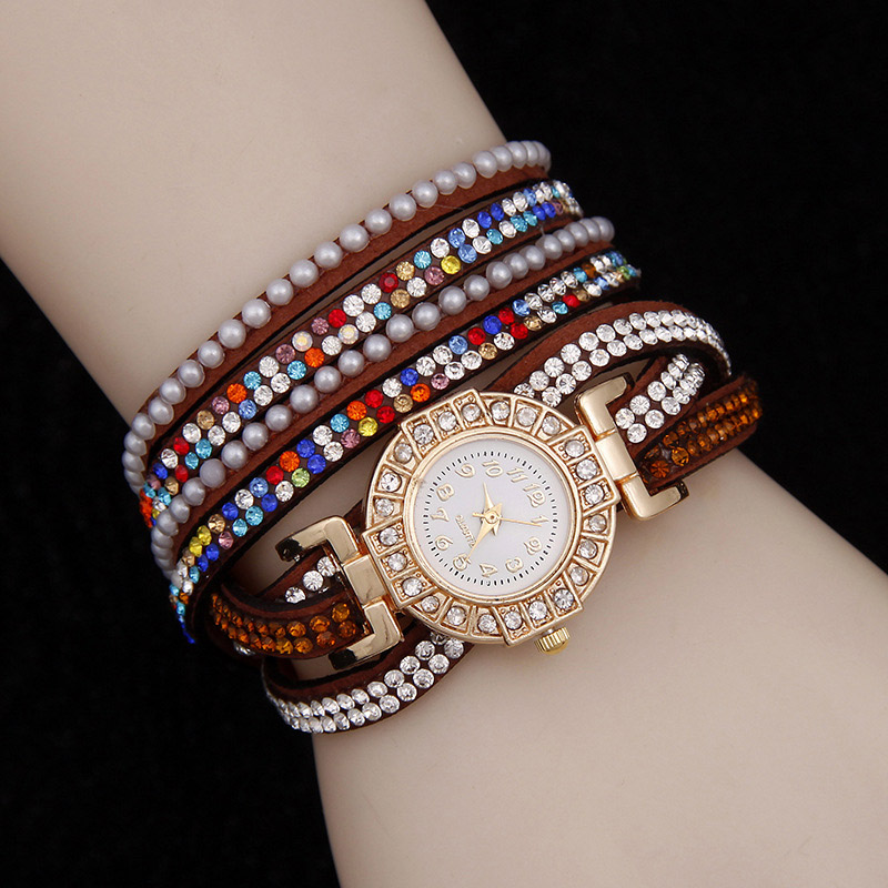 2016 New Fine Jewelry Bling Pulseira Couro Slake Deluxe ...