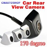 170 Degree Mini Waterproof Car Parking Assistance Reversing Back Rear View Camera HD CCD Wire Car