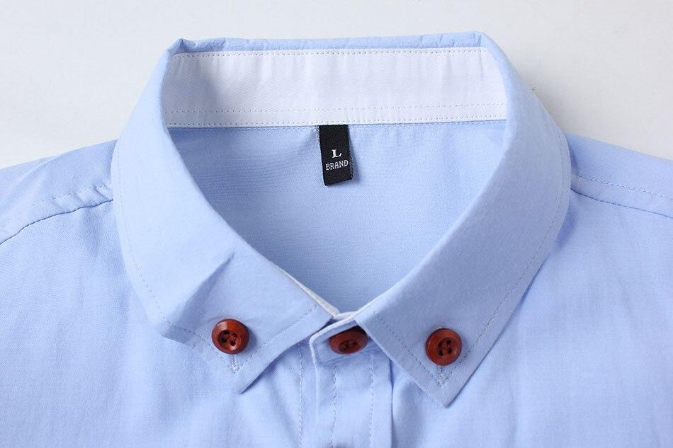 New Fashion Casual Men Shirt Long Sleeve
