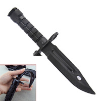 1 Pcs Manoeuvre War Games Cosplay Trick Prank WG ABS Soft Plastic Fake Knife Model Knife