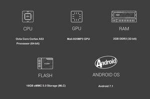 Image 5 - MINIX NEO U9 H + Neo A3 Android 7.1 TV Box Với Tiếng Nói Đầu Vào Không Khí Chuột Tùy Chọn Amlogic S912 H Octa Core 4K HDR Wifi Smart TV Box